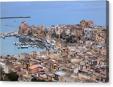 Sicily Canvas Print - Castellammare Del Golfo - Sicily by Joana Kruse