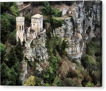 Castello Di Venere Canvas Print