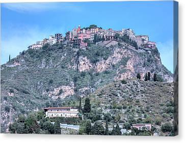 Castelmola - Sicily Canvas Print