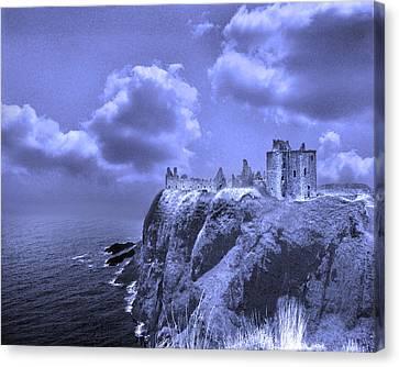 Castle Blue Canvas Print