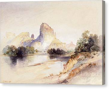 Castle Butte, Green River, Wyoming Canvas Print