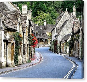Castle Combe Canvas Print by Diane Height