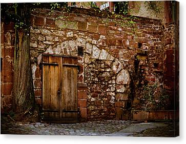 Castle Doors Canvas Print