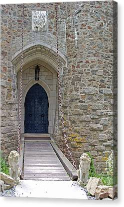 Castle Entrance Canvas Print by Suzanne Gaff