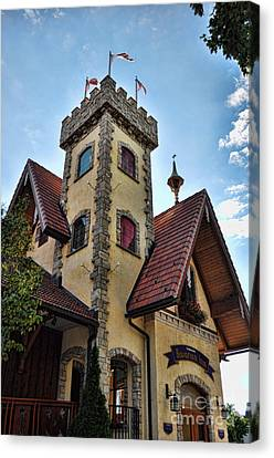 Castle Frankenmuth Canvas Print by Chris Fleming