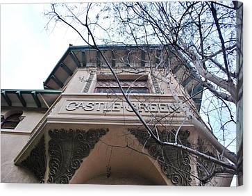 Canvas Print featuring the photograph Castle Green Pasadena Looking Up by Matt Harang