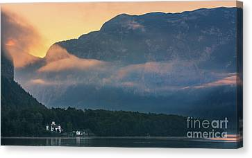 Hallstatt Canvas Print - Castle Grub - Austria by Henk Meijer Photography
