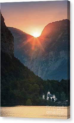 Hallstatt Canvas Print - Castle Grub In Austria by Henk Meijer Photography