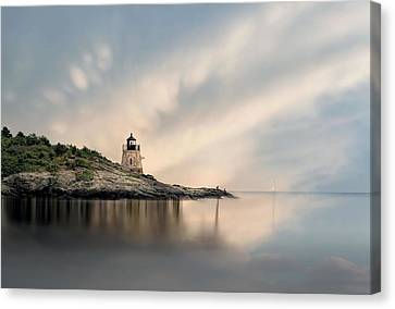 Castle Hill Light Canvas Print by Robin-Lee Vieira