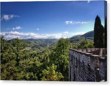 Castle In Chianti, Italy Canvas Print