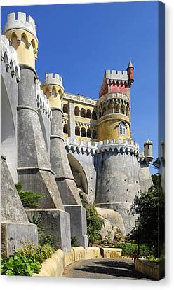 Castle In Color Canvas Print