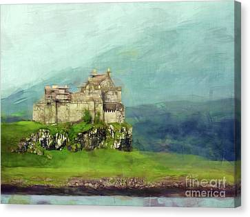 Castle, Isle Of Mull Canvas Print by Judi Bagwell