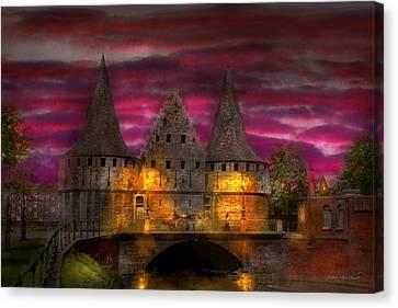 Castle - Meet Me By The Rabot Sluice Canvas Print