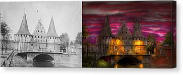 Castle - Meet Me By The Rabot Sluice - Side By Side Canvas Print