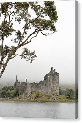 Castle Mist Canvas Print by Grant Glendinning