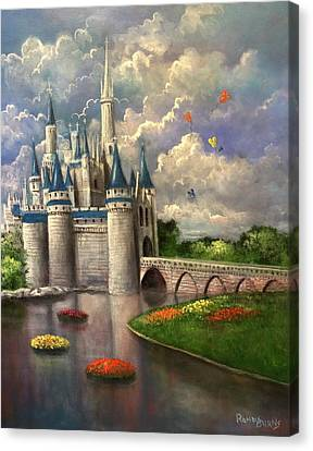 Castle Of Dreams Canvas Print by Randy Burns
