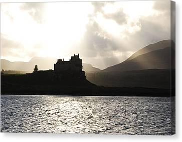 Castle On Scotland's Inner Hebridean Islands Canvas Print by Kelsey Horne
