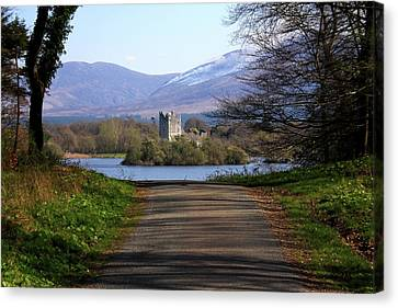 Castle On The Lakes Canvas Print