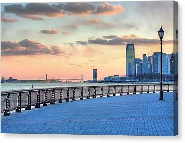 Castle Point  Canvas Print by JC Findley