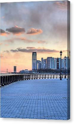 Castle Point V Canvas Print by JC Findley