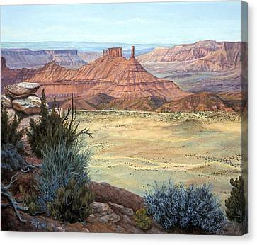 Castle Rock Iv Canvas Print