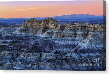 Castle Rock Sunset Canvas Print