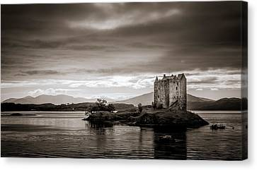 Castle Stalker 1 Canvas Print by Niels Nielsen