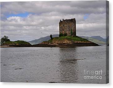 Castle Stalker Canvas Print by Nichola Denny