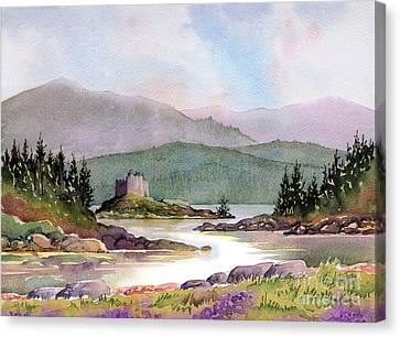 Castle Tioram  Canvas Print by Anthony Forster