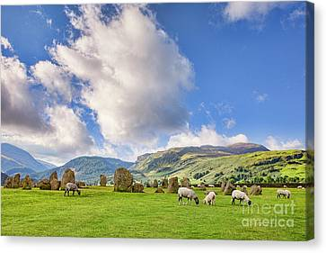 Castlerigg Stone Circle Canvas Print by Colin and Linda McKie