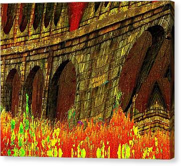 Castles Burning Canvas Print by Cliff Wilson