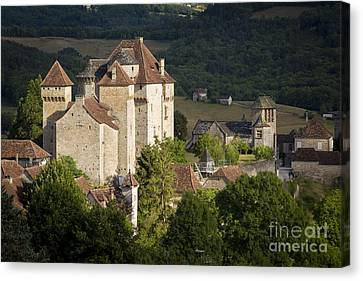 Castles Of Curemont Canvas Print by Brian Jannsen