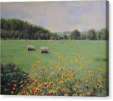 Castleton Canvas Print by Cynthia Satton