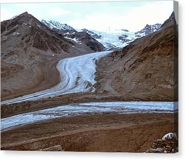 Castner Glacier Canvas Print