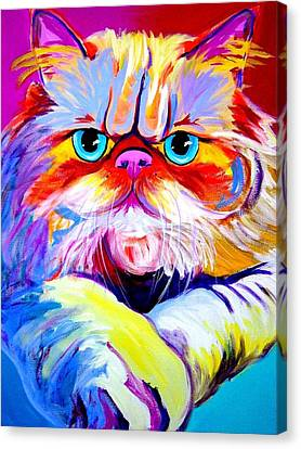 Cat - Tigger Canvas Print by Alicia VanNoy Call