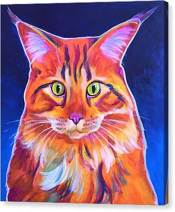 Cat - Cosmo Canvas Print