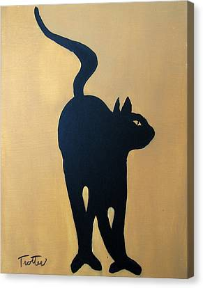 Cat Dance..... Optical Illusion Canvas Print by Patrick Trotter