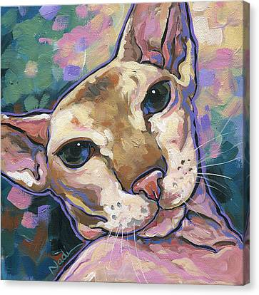 Canvas Print - Cat by Nadi Spencer
