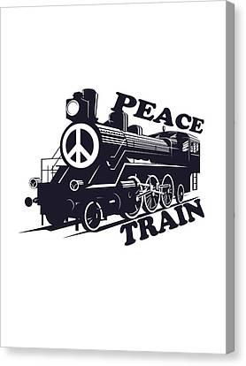 Cat Stevens - Peace Train Is Coming Canvas Print