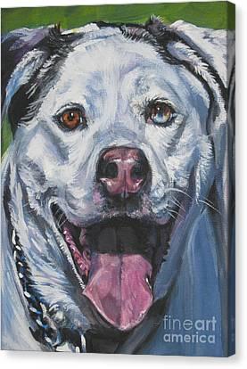Catahoula Leopard Dog Canvas Print by Lee Ann Shepard