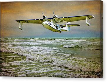 Catalina Flying Boat Canvas Print