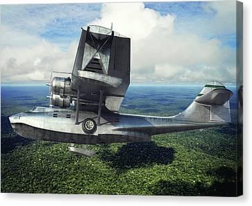 Aviationart Canvas Print - Catalina by Gino Marcomini