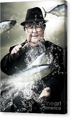 Metaphorical Canvas Print - Catch Of The Day by Jorgo Photography - Wall Art Gallery