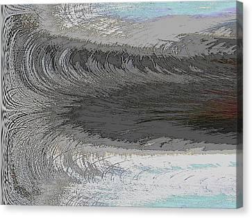 Catch The Wave Canvas Print by Tim Allen
