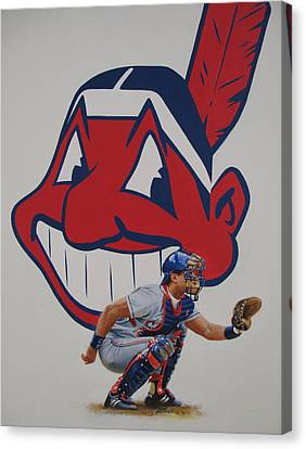 Catcher Canvas Print