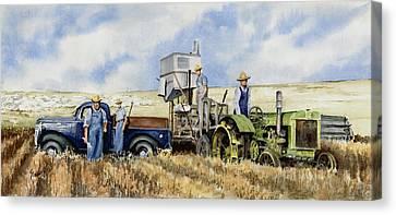 Catesby Cuttin' 1938 Canvas Print