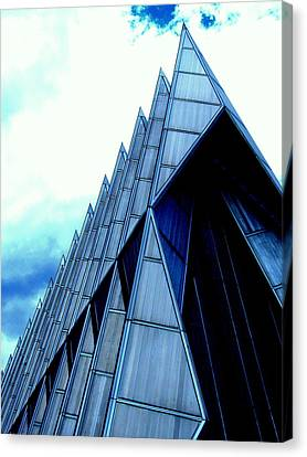 Canvas Print featuring the photograph Cathedral 2 by Antonia Citrino