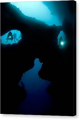 Cathedral At Pescador Island Canvas Print by Henry Jager