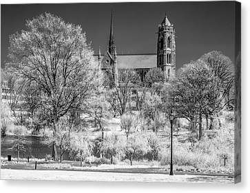 Canvas Print featuring the photograph Cathedral Basilica Of The Sacred Heart Ir by Susan Candelario