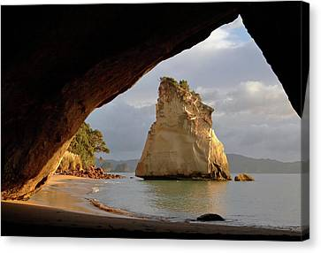 Cathedral Cove Canvas Print
